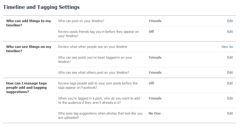 LORRIE: How to hide my account on facebook